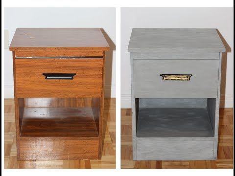 painting-laminate-furniture-with-chalk-paint:-how-to-techniques-and-tools-good-for-beginners
