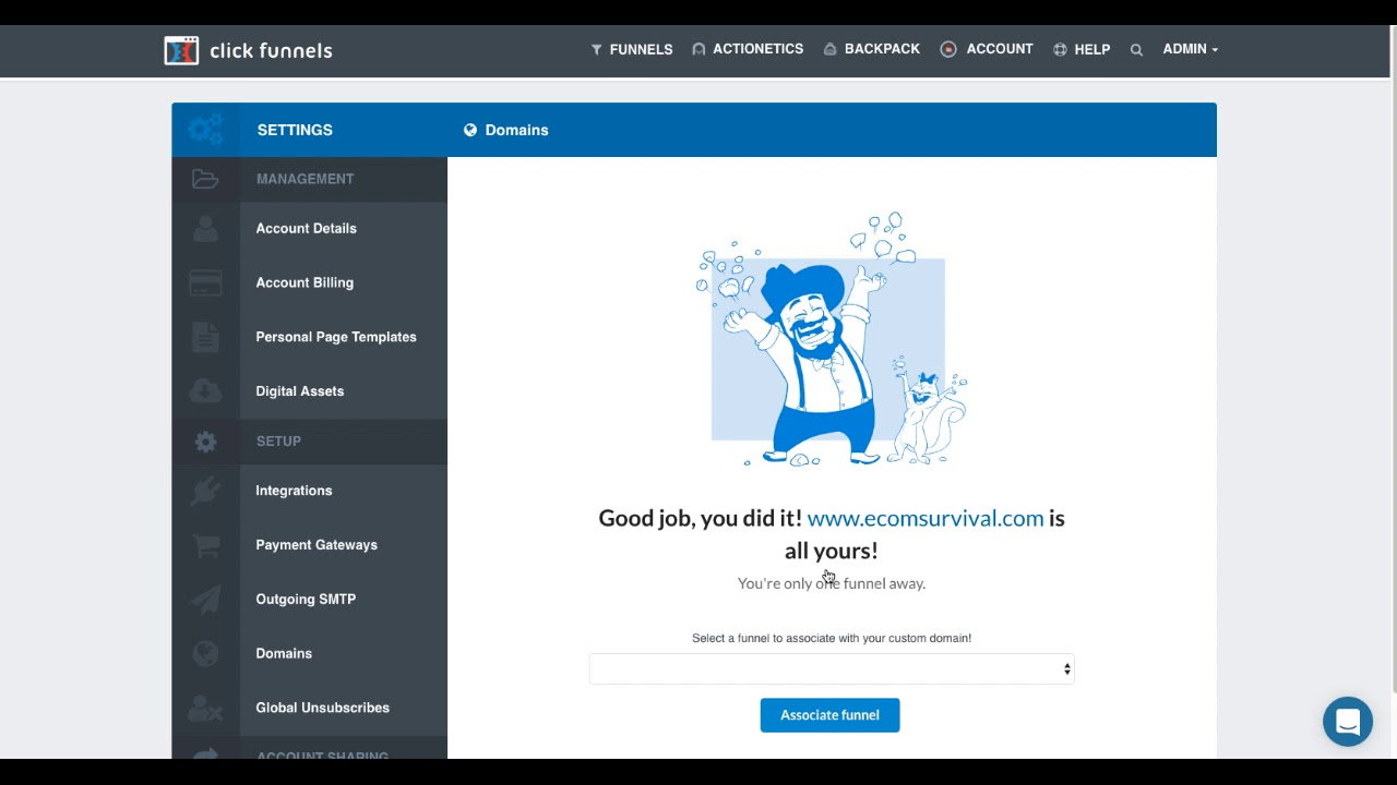Custom Domain Setup - Integrating a domain that you have registered outside of ClickFunnels