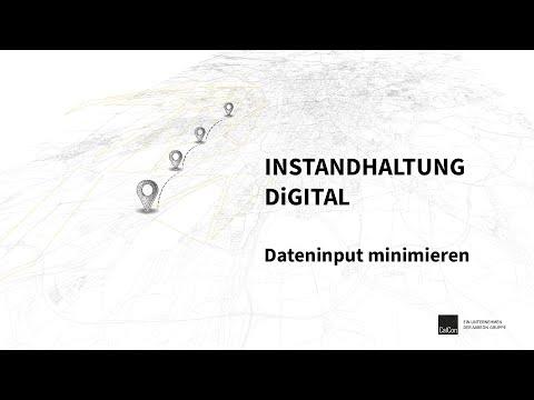 Dateninput minimieren