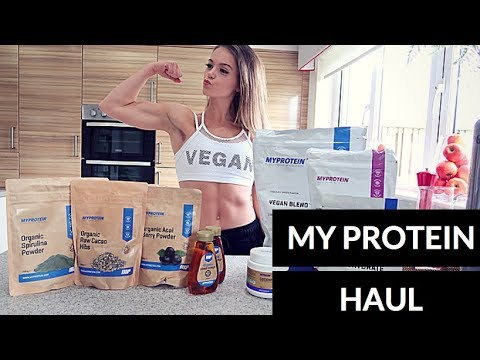 HUGE MY PROTEIN HAUL! // Vegan