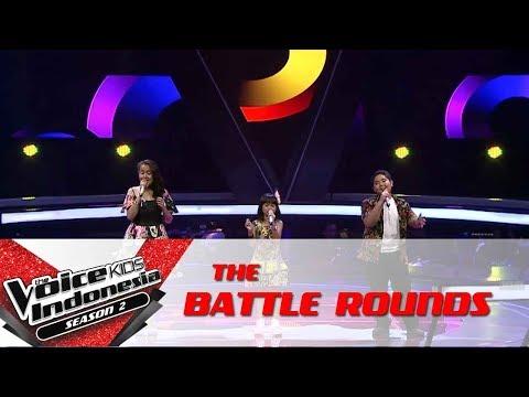 "Ryan & Diandra & Sharen ""I Remember""| Battle Rounds | The Voice Kids Indonesia S2 GTV2017"