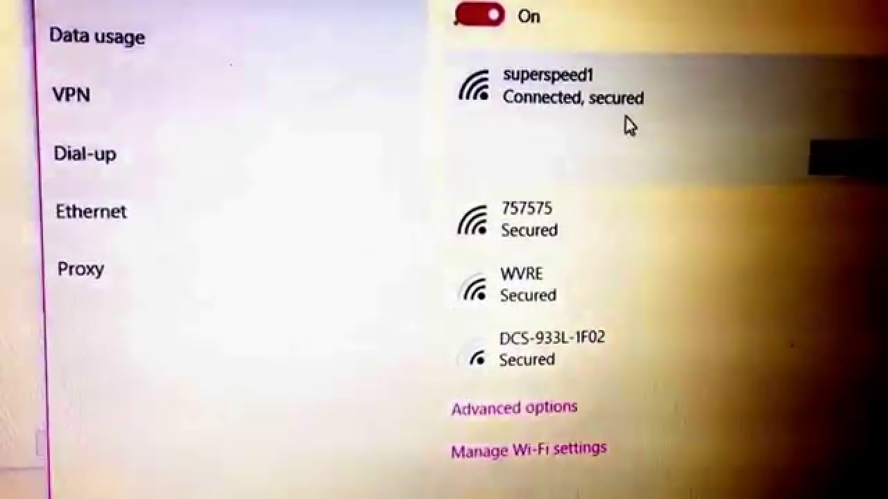 how to refresh internet connect on windows 10