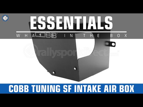 COBB Tuning SF Intake Air Box - What's in the Box? - YouTube