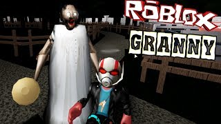 Я за ГРЕННИ в РОБЛОКС онлайн ЛУЧШАЯ версия игры ROBLOX GRANNY game kids видео летсплей для детей
