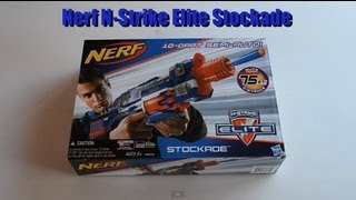 ~Unboxing~ Nerf N-Strike Elite Stockade Unboxing Video ~Unboxing~