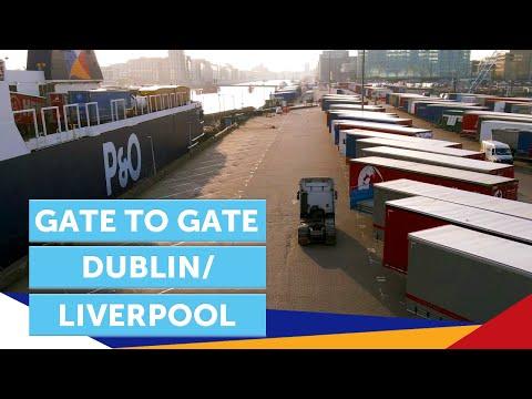 Gate to Gate: Dublin to Liverpool | Freight | Irish Sea | P&O Ferries