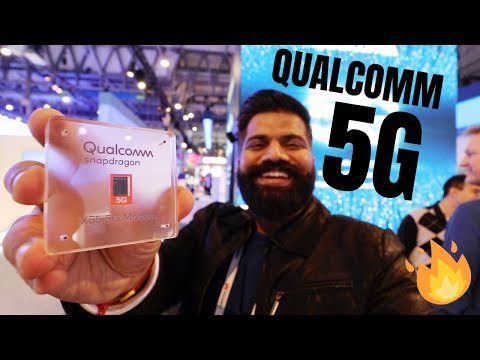 5G is Here - Qualcomm 5G Innovation at MWC 2019 🔥🔥🔥