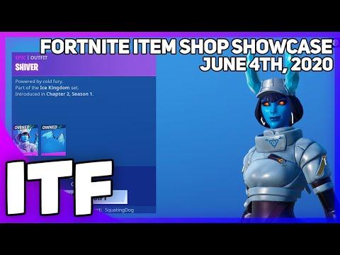 Fortnite Item Shop SHIVER IS BACK! [June 4th, 2020] (Fortnite Battle Royale)