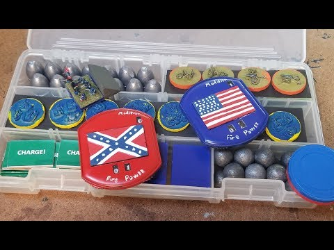 Markers And Game Aides For Fire And Fury