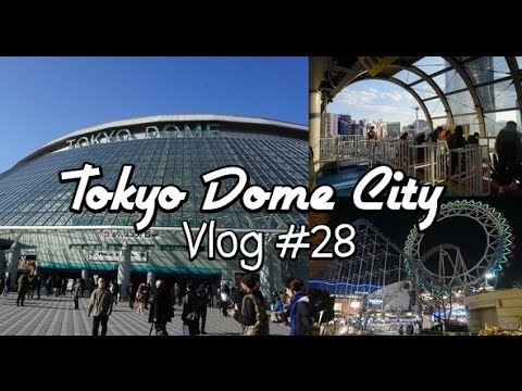 Amusement Park in Tokyo ~TOKYO DOME CITY~ (Vlog #28)