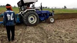 Farmtrac 6055 Deep Plough | Farmtrac 6055 , 6050 Demo