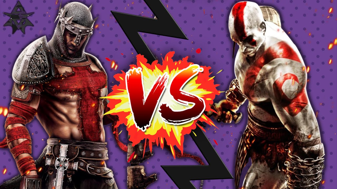 kratos vs dante gaming showdown youtube
