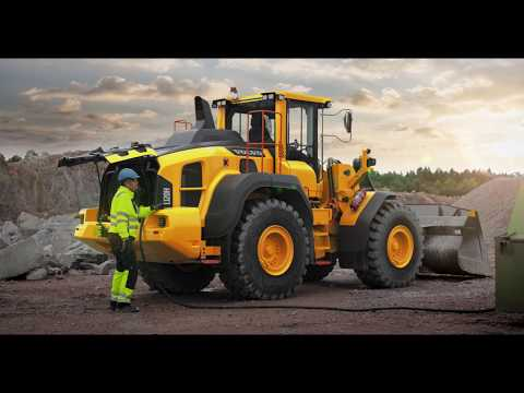 Volvo L110H, L120H Wheel Loaders: Powerful And Efficient