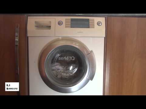 Siemens IQ1430 Washing Machine : Cotton 90'c Half load + stains + rinse plus
