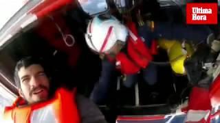 Espectacular rescate en el mar