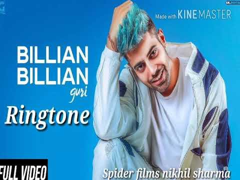 Billian Billian Guri Ringtone New Punjabi Song