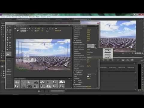 Adobe premiere pro cs5 tutorial en español