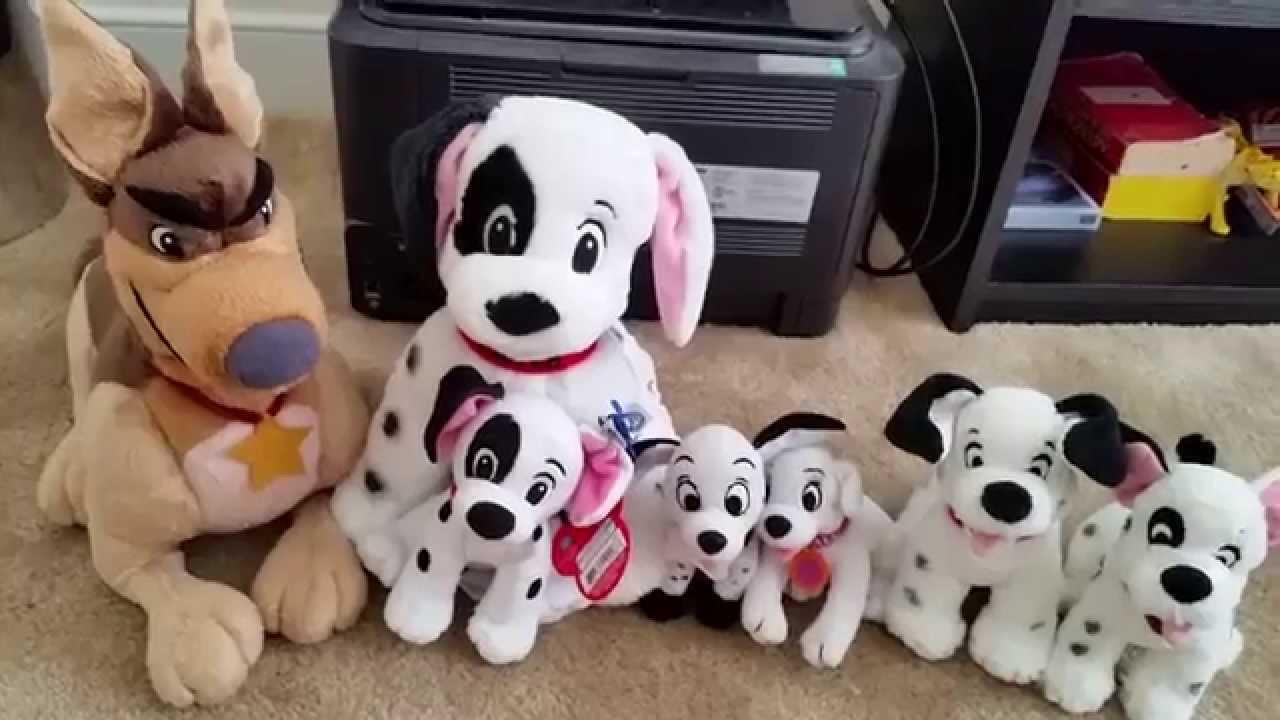 101 Dalmatians Plush Collection 2014 Youtube
