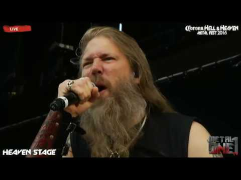 Amon Amarth As Loke Falls (Mejor Audio) Hell and Heaven 2016 México