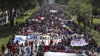 HISTÓRICA marcha de los alumnos del IPN 30 de septiembre 2014 / #TodosSomosIPN