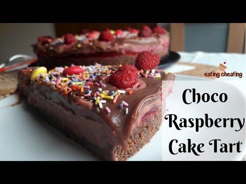 Creamy Raspberry Chocolate Cake | SIMPLE Chocolate Cake Recipe