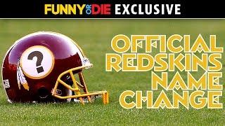 Official Redskins Name Change
