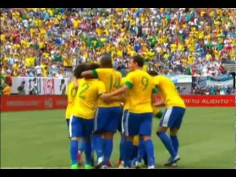 Brasil 3 X 4  Argentina - Super Clássico Das Américas, Amistoso - 09/06/2012