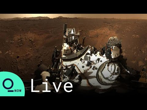 LIVE: NASA Shows Off 360-Degree View of Mars Perseverance Rover Landing Site