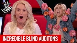 The Voice | INCREDIBLE Blind Auditions