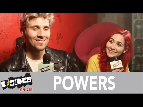 B-Sides On-Air: Interview - POWERS Talk 'Alpha', New York City Artist Relationships