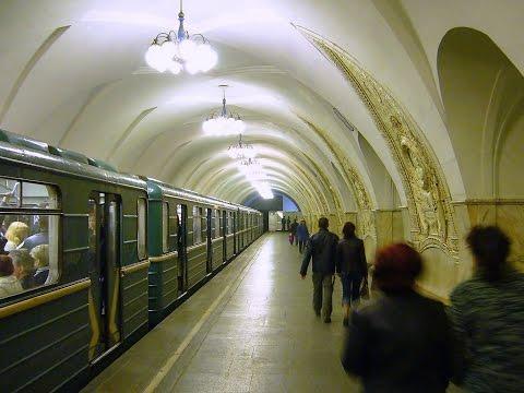 METRO DE MOSCÚ - MOSCOW METRO