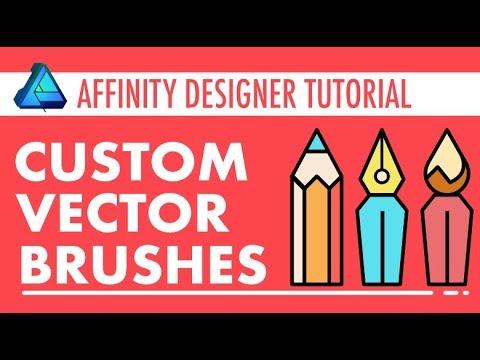 Affinity Designer - Custom Vector Brushes