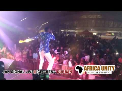Jah signal live@ Ice Arena durban  South Africa 5 may 2017