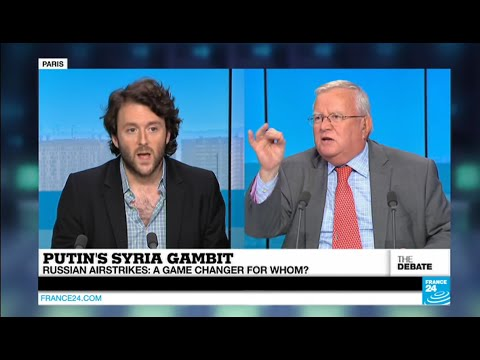 """""""You Americans created the Islamic state group!"""" says French MP Jacques Myard on #F24Debate"""