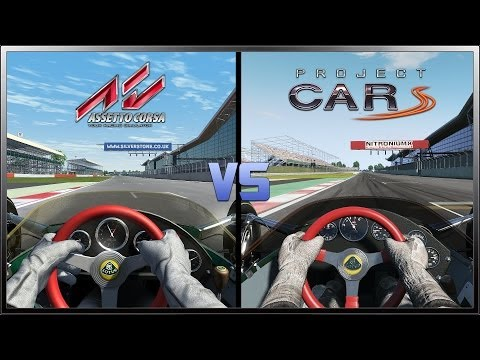 project cars vs assetto corsa 1 1 dream pack mclaren p1 nordschl. Black Bedroom Furniture Sets. Home Design Ideas