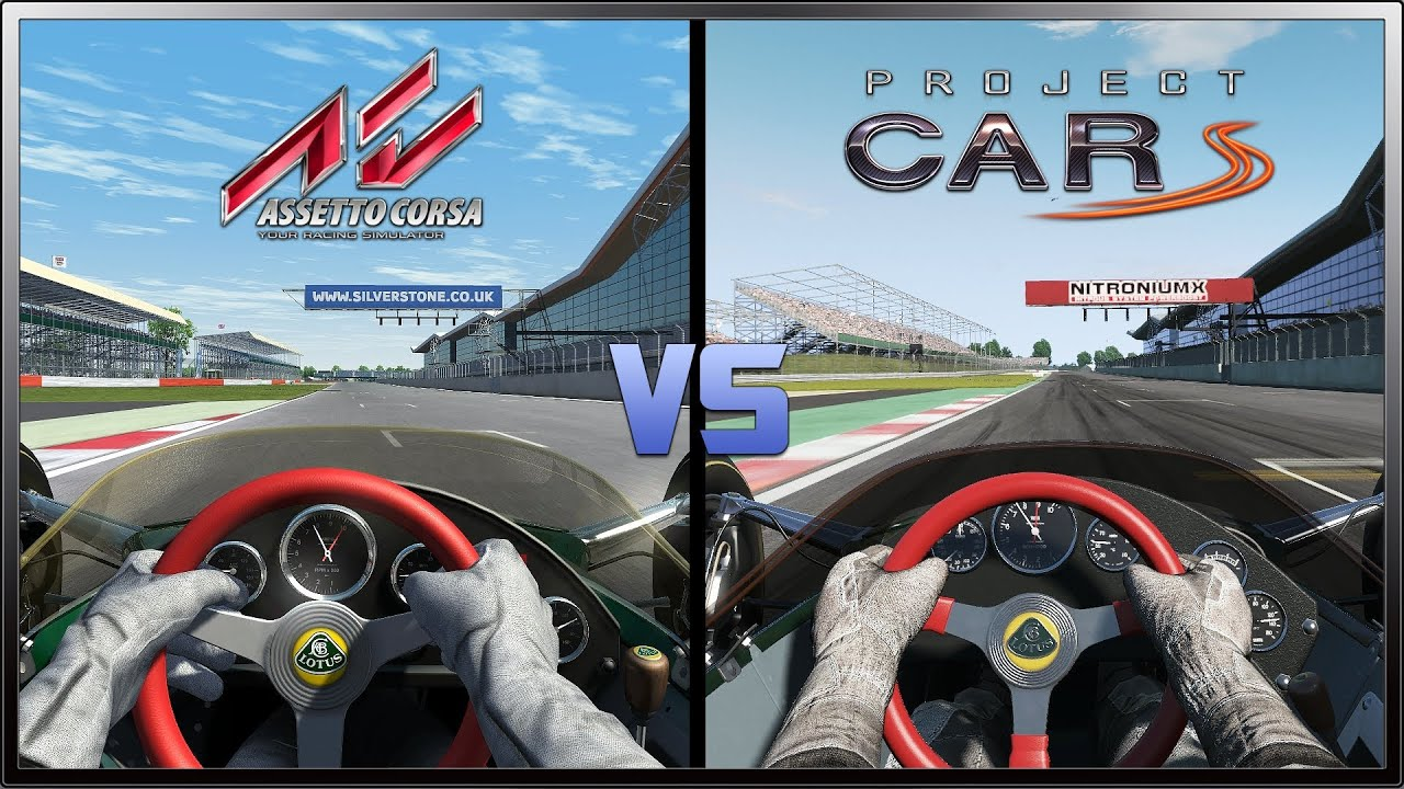 Project Cars Vs Assetto Corsa Graphics Comparison Lotus 49