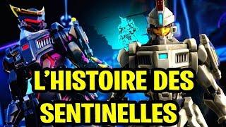 THE HISTORY OF SKIN SENTINELLE SAISON 9 ON FORTNITE!