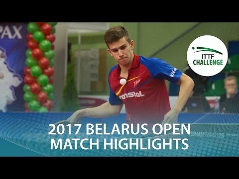 2017 Belarus Open Highlights: Yuto Kizukuri vs Christian Pletea (U21-Final)