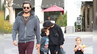 Brad And Angie Split, While Scott Disick Reunites With Kourtney For Family