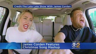 James Corden Shares Christmas Song Mashup