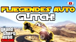 GTA 5 Online - Fliegendes Auto Glitch! [PlayStation 4, Xbox One, PC, PS3, Xbox 360, Patch 1.33]