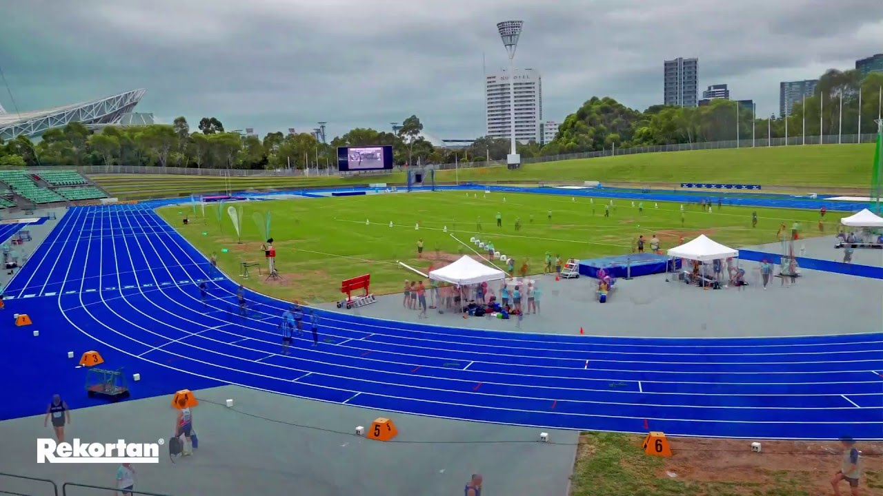 Rekortan M99 At Sydney Olympic Park Athletic Centre