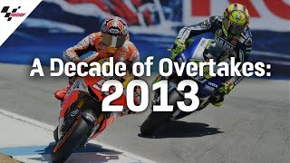 The Best Overtakes from 2013