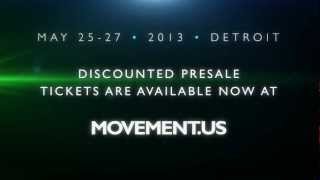 Movement 2013 Official Trailer |  May 25-27 Detroit, Hart Plaza