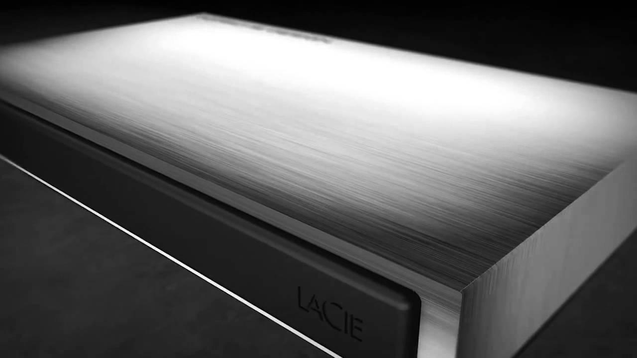 disque dur externe lacie porsche design p 39 9220 usb 3 0 2 0 youtube. Black Bedroom Furniture Sets. Home Design Ideas
