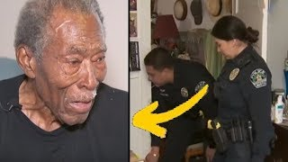 Elderly Veteran Calls 911, Then Lady Cop Arrives And Notices His Kitchen.