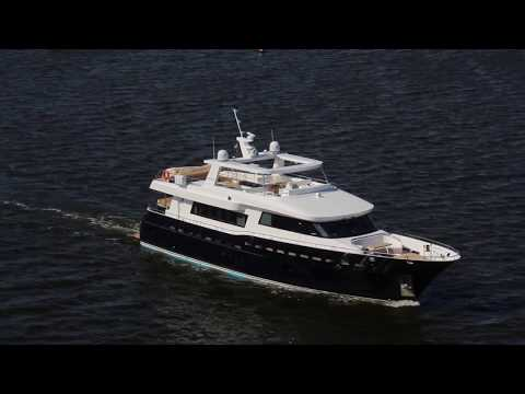 90 ft New steel luxury motor yacht explorer BSY 90