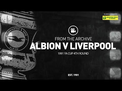 1991 FA Cup 4th Round: Albion v Liverpool