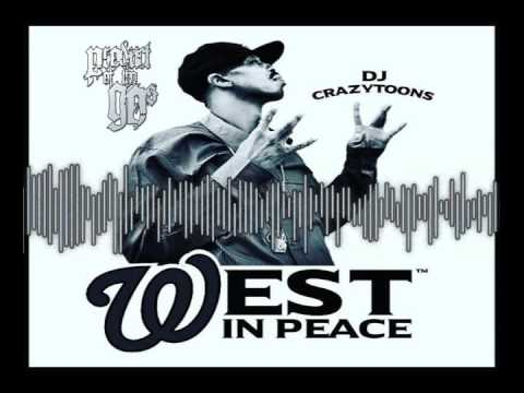 R.I.P DJ Crazy Toones West Coast Instrumental Tribute Dedication by Product Of Tha 90s 2017