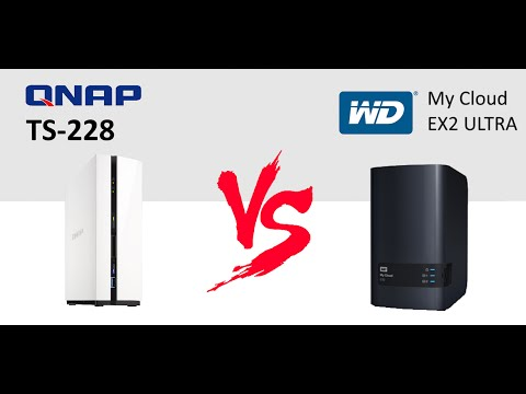 The Wd My Cloud Ex2 Ultra Nas Vs The Qnap Ts 231 Nas Compare Brand Against Brand In A Nas Faceoff Youtube